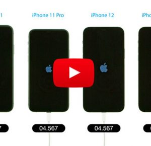 Boot Speed Test: iPhone 12 Pro vs iPhone 12 vs iPhone 11 Pro vs iPhone 11 [Video]