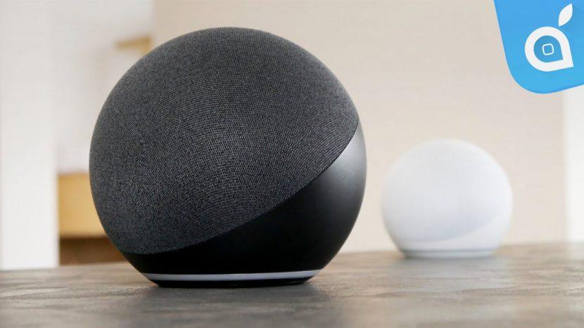 Recensione Amazon Echo ed Echo Dot di 4a generazione: nuovo design sferico e tanta potenza
