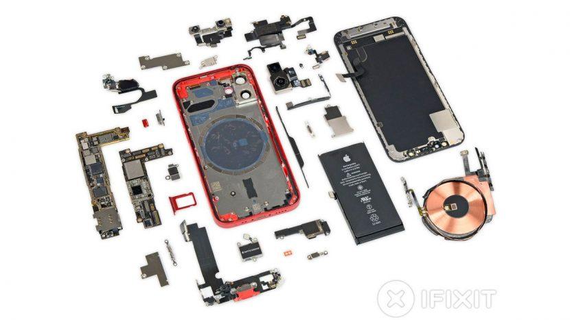 iPhone 12 mini, iFixit pubblica il teardown del dispositivo
