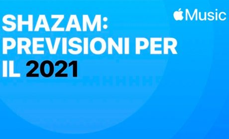 "Apple Music, disponibile la playlist ""Shazam: previsioni per il 2021"""