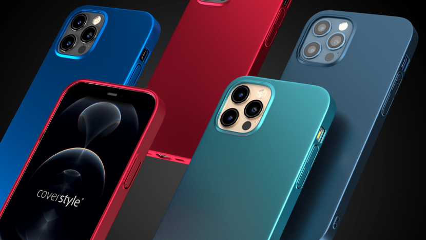 UltraSoft, la prima cover BLU PACIFICO per iPhone 12 Pro / Max per un matching perfetto, in Sconto con iSpazio!