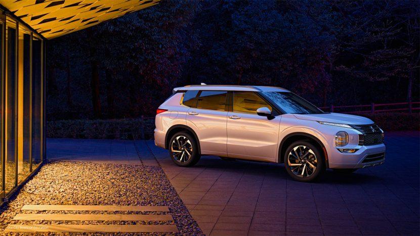 Il nuovo Mitsubishi Outlander 2022 supporta CarPlay Wireless