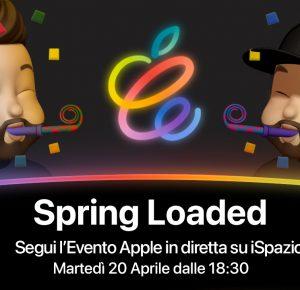 """Evento Apple """"Spring Loaded"""": Come seguirlo in diretta su iSpazio"""