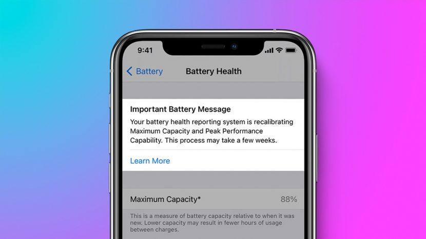 iOS 14.5 migliora la durata della batteria dopo aver effettuato la ricalibrazione sugli iPhone 11